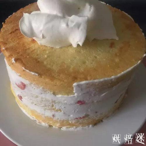 精致草莓奶油巧克力淋面蛋糕7.jpg